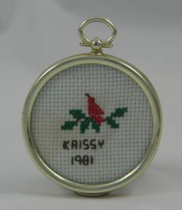 First cross stitch