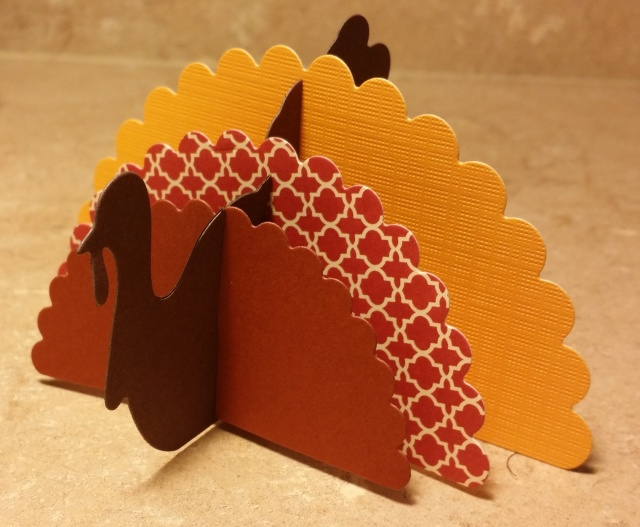 turkey diecut