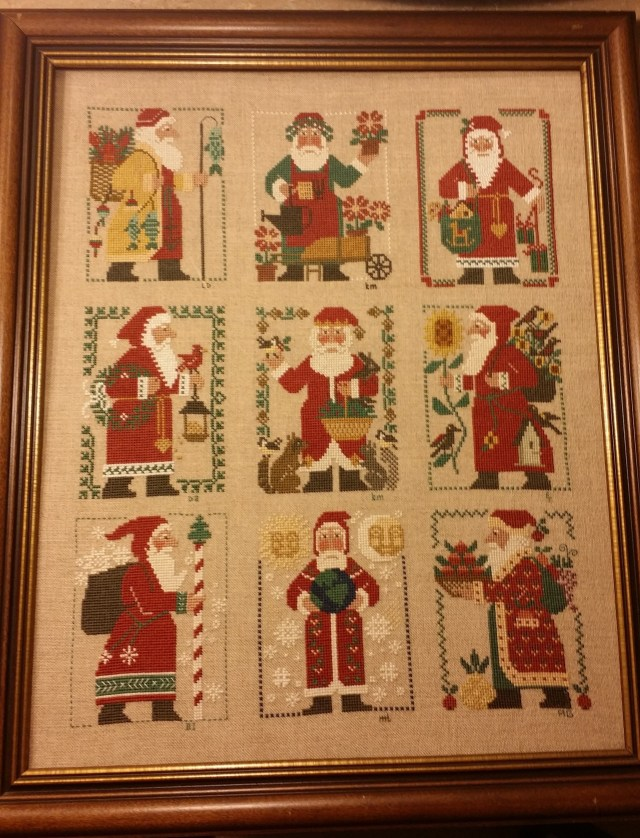 Prairie Schooler Santas
